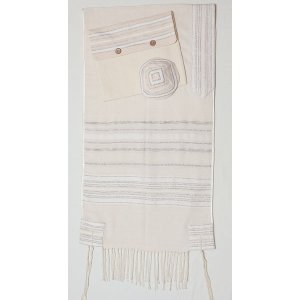 Crown Hand Woven Tallit by Weaving Creation