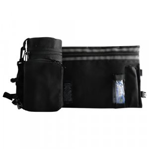 Black Thermal Tefillin Protector with Tallit bag