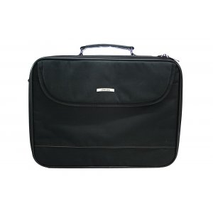 Black Fabric Tallit Carrier Briefcase with Handle and Strap, Thermal Protection
