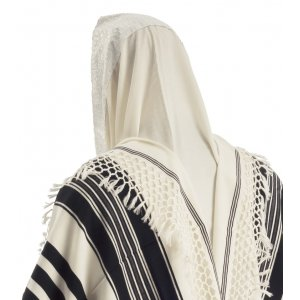 Yemenite Tallit by Talitnia - Net Fringes