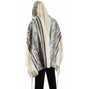 Seven Species Tallit Prayer Shawl by Talitnia