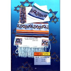 Magen David Tallit Prayer Shawl by Talitnia