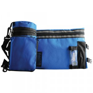 Blue Thermal Tefillin Protector with Tallit bag
